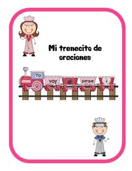 Formando oraciones- San Valentín  Building Sentences -Valentine