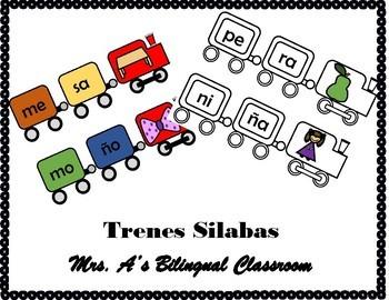 Trenes Silabas