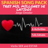 Tres Mil Millones de Latidos: Spanish Song to Practice SER