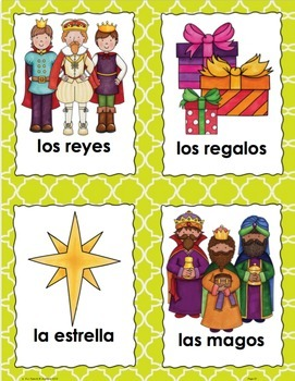 Tres Reyes Magos Three Kings' Day Beginning Spanish Unit with informational text
