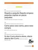 Tres Trabalenguas Interactivos en Espanol