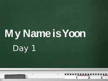 Treasurers - 2nd Grade - My Name is Yoon - Day 1