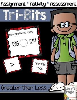 Tri-Bits - GREATER THAN LESS THAN