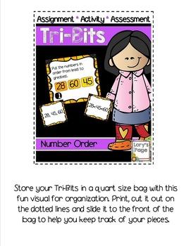 Tri-Bits -  NUMBER ORDER