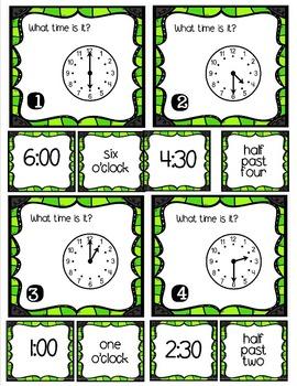 #wildwednesday Tri-Bits - TIME hour, half hour
