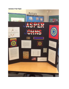 Art History: Tri-Fold Research Project