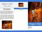 Tri-Fold Brochure Template for Google Docs
