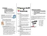 Tri-Fold Brochure for Parent Orientation