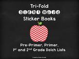 Tri-Fold Sight Word Sticker Books