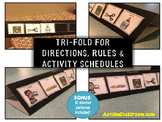 Visual Support for Directions, Rules (Activity Schedules -
