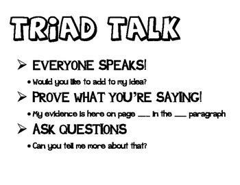 Triad Talk: Engaged NY Protocal