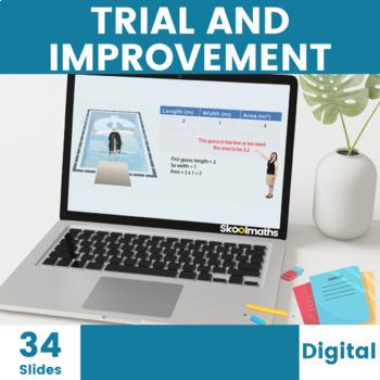 Trial & Improvement - 9th - 10th grades, GCSE(1-9)