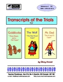 Trial Transcripts for Fairy Tales