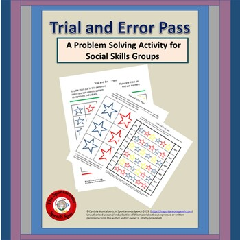 Trial and Error Pass, Group Problem Solving Activity