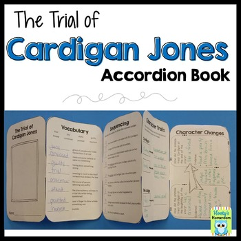 Trial of Cardigan Jones - Accordion Book