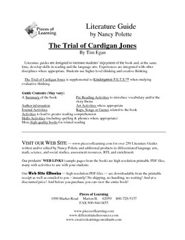Trial of Cardigan Jones Literature Guide