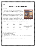 Trial of Cardigan Jones Spelling Activities Journeys Grade