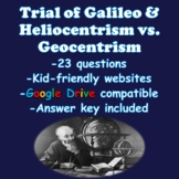 Trial of Galileo & Heliocentric vs. Geocentric Theory