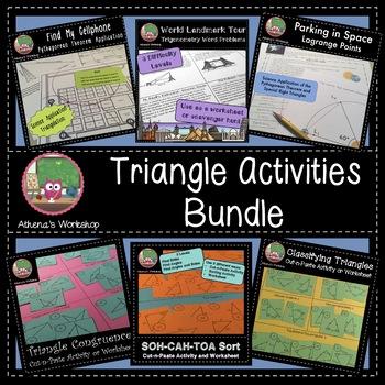 Triangle Activities Bundle