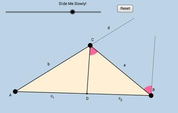Triangle-Angle Bisector Theorem