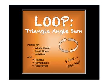 Triangle Angle Sum Loop