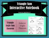 Triangle Angle Sum Foldable