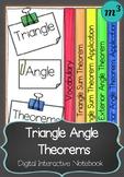 Triangle Angle Theorems