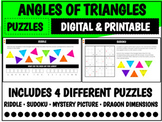 Triangle Angles Puzzles   Distance Learning