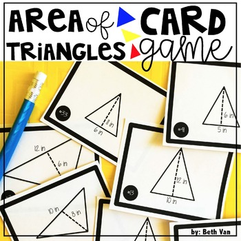 Triangle Area Card Game