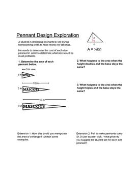 Triangle Area Exploration
