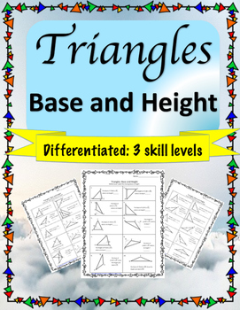 Triangle Base and Height: Differentiated