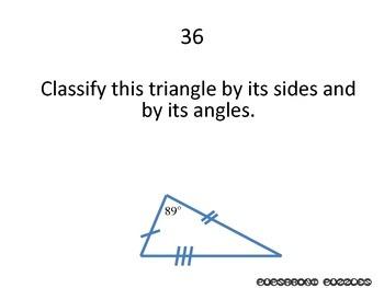 Triangle Basics Scavenger Hunt - PP