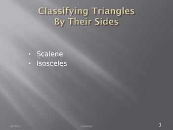 Triangle Classification
