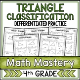 Classifying Triangles Worksheets