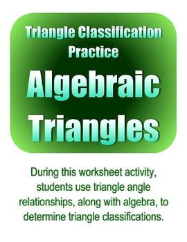 Triangle Classification Practice: Algebraic Triangles