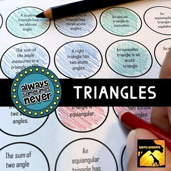 Triangle Classification & Impossible Triangles: Always, Sometimes, or Never