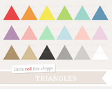 Triangle Clipart; Basic Shape, Geometric