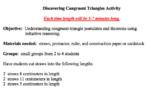 Triangle Congruence Activity