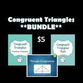 Triangle Congruence Bundle