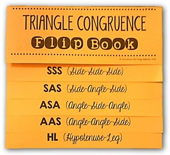 congruent triangles flip book by all things algebra tpt. Black Bedroom Furniture Sets. Home Design Ideas