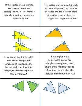 Triangle Congruence Foldable
