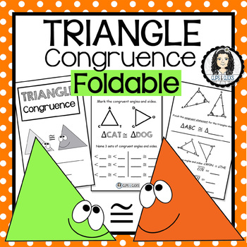Triangle Congruence Interactive Notebook Foldable