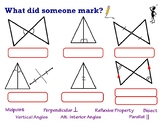 Triangle Congruence Markings and Vocabulary Visual Reference