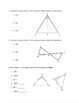 Triangle Congruence Packet