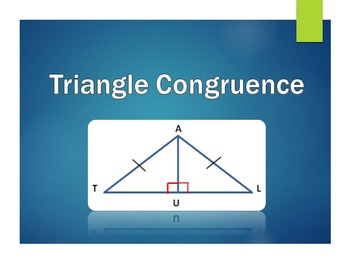 Triangle Congruence - Review Game