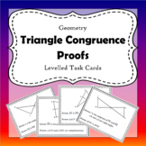 Triangle Congruence Proof Task Cards