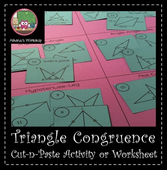 Triangle Congruence Sort - Differentiated