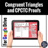 Congruent Triangles and CPCTC Proofs Digital Activity