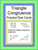 TRIANGLES: CONGRUENT TRIANGLES PRACTICE(SSS,SAS,ASA,AAS,HL, 20 TASK)