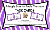 Triangle Exterior Angle Theorem - Task Cards